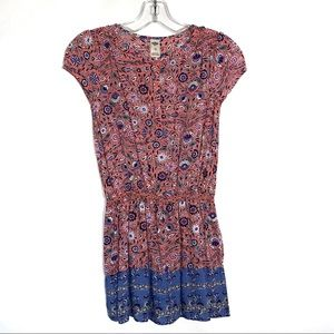 Girls Floral Tunic/Top